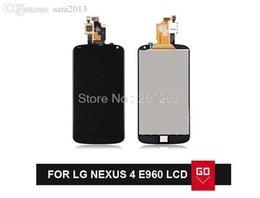 Promotion écran tactile google Garantie à 100% pour LG Google Nexus 4 Optimus E960 Écran LCD avec écran tactile à écran tactile