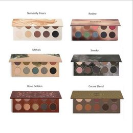 Wholesale 2017 New ZOEVA Eyeshadow Palette Mixed Metals cocoa blend rose golden New Collection ship by fast