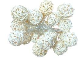 2017 luces de hadas blancas con pilas Venta al por mayor- 2.2m 20 LED batería alimentado hadas luces de hadas para el jardín al aire libre de Navidad decoración de la boda blanco caliente barato luces de hadas blancas con pilas