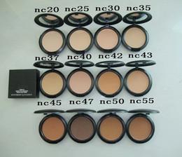 Studio Fix Face Powder Plus Foundation 15g Pressed Makeup Powder foundation All NC colors Mini Order 12pcs