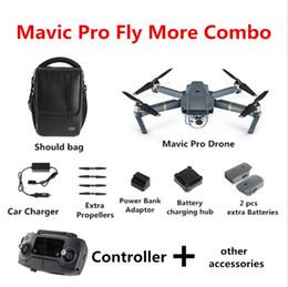 2016 4k caméra drone 2017 Nouveau chaud! DJI Mavic Pro Fly Plus Combo (3 batteries) Quadcopter Dron avec 4K caméra et 3 axes Gimbal FPV quadcopter Camera Drones budget 4k caméra drone