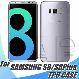 Wholesale For Iphone Case Soft Clear Cover mm TPU Silicon Gel Phone Cases Samsung Galaxy S8 Plus ON5 S7 Edge S6
