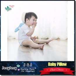 Wholesale Baby Head Protection Pad Toddler Headrest Pillow baby Neck Cute Wings Nursing Drop Resistance Cushion Excellent Gift