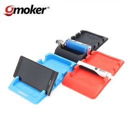 Wholesale 2016 NEW Arrival vapesoon car center console silicone mat for e cig ego aio istick pico cell phone black blue red color