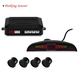 Wholesale Car Parking Sensor Kit LED Parktronic Parking Sensors For Cars Reverse Assistance Buzzing Sound Backup Radar Monitor System