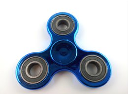 Jouet à araignée à vendre-New Fidget Spinner Spinner à main Metal Metallic Color Gyro Hand Spinner Fidget Toy pour enfants Adultes Soulagement de stress EDC Toys With Retail Box