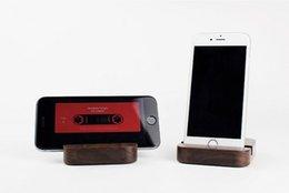 Free shippingUniversal Walnut Imported Affichage en bois massif pour Iphone6 / série Iphone, support Sumsung que aviod votre téléphone rayures à partir de le soutien à l'importation fabricateur