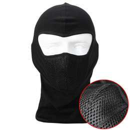 Wholesale Lycra Fabrics Ski Face Mask Motorcycle Cycling Bike Bandana Hiking Skateboard Balaclava