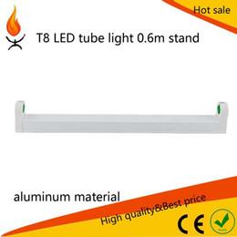 Livraison gratuite 2ft T8 Fluorescent 2ft 3ft 4ft 5ft Tube Led Bar T8 Light Support Socket Lampe Avec Clip Clip Clip 50pcs à partir de barres autoportantes fabricateur