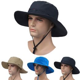 New Fashion Foldable Unisex Wide Brim Men Outdoor Sports Fishing Hiking Hunting Cap Women UV Protection Sun Hat