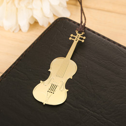 Wholesale book markers bookmark guitar marcador livros segnalibro bookmarks marcapaginas marque page marcadores musical instruments