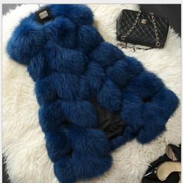 2017 women s faux fur vest Inverno Casaco de peles Faux novo casaco moda casaco Mulheres Falso Fake Fur Vest mangas mais casaco V-colar casaco tamanho Outwear Tamanho S-XXXL barato women s faux fur vest