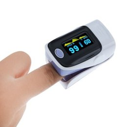 Wholesale High quality portable self adjusting spring design Digital LED screen Fingertip Pulse Oximeter Instant Read Health Monitoring Display