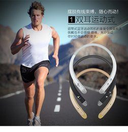 Shenzhen Factory HBS 913 HBS913 Neckband Bluetooth Earphone Headsets Wireless Headphone for LG iPhone Samsung Smartphones