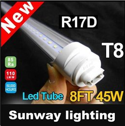 Wholesale R17D Tubes ft T8 W LED fluorecent tube lights m cm mm LM LEDS aluminium PC SMD2835 Stock In US
