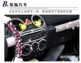 Wholesale tone equipment MM Units Sheet Acrylic Car DIY Rhinestone Sticker Self Adhesive D Crystal Stone For Auto mm mm S