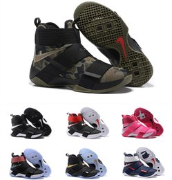 Wholesale Top quality lebron Soldiers Basketball Shoes for Men Kids Women Cheap Sale s James Sports Training Sneakers youth Size