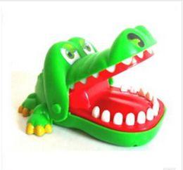 Descuento parodia divertida Venta al por mayor-extraño nuevo creativo parodiar la persona entera gracioso divertida boca boca grande cocodrilo