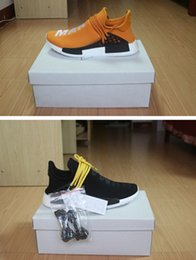 Wholesale Drop ship nmd Human Species with originals box top quality men and women running shoes size