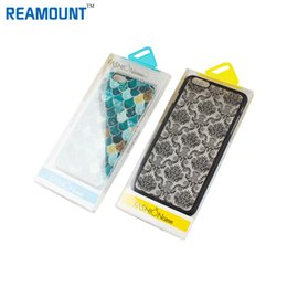 Dust-proof Transparent PVC Packaging Box for Mobile Phone Case for iphone 7 4.7 inch Case for iphone 7 plus 5.5inch Case with Inner Tray