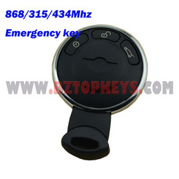 Wholesale B0050 Smart key button with emergency key Mhz with logo for BM Min Cooper Keyless Entry remote car key