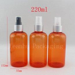 Polyuréthane plastique à vendre-220 ml de bouteilles en plastique vides en plastique, bouteille en polyuréthane en aluminium de maquillage 220 cc, bouteille rechargeable pour parfum, bouteille d'eau pulvérisée