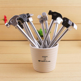 Creative hammer Ballpoint pens Office with school supplies 0.5mm ball point pens Creative Stationery Writing chancery