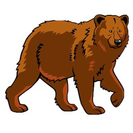 3d Car Sticker The Big Bear In The Heavy To Walk Transferable Personality Car Styling Vinyl Decal Graphics