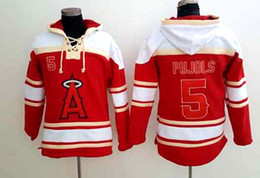 Wholesale Baseball jersey hoodie cincinnati reds Albert Pujols Mike Trout Kole Calhoun player hoodie