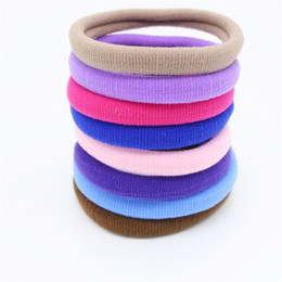 2017 New Jewelry Thickness 1cm Colorful Hair Rubber Bands Multicolor Elastic Hair Jewelry For Women Hair Accessories