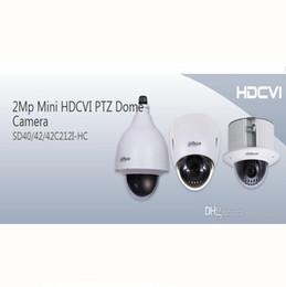 Ptz 12x en Línea-DAHUA IP66 (al aire libre), IK10, OSD 2Mp Mini HDCVI Cámara domo PTZ 1080P HDCVI 12X PTZ cámara DAHUA SD42C212I-HC