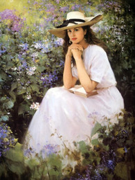 Beautiful Girl Fine Art Print Reproduction High Quality Giclee Print on Canvas Home Decor GT16 (178)
