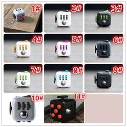 Wholesale Top quality fidget cube toy games for kids and adults Desk Toys Children Christmas Gifts to Relieve Anxiety and Pressure Decompression Toy