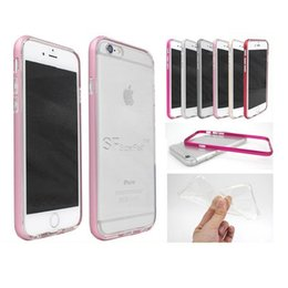 Wholesale Metal Case Aluminum Frame for iphone plus Prevent scratch shockproof bumper iphone case In some parts of Free DHL