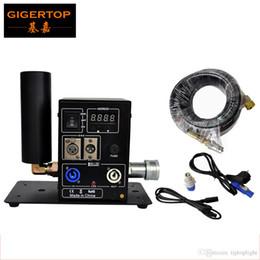 Compra Online Pantallas digitales-Efecto de escenario Máquina 200W LCD Pantalla Efecto de escena 8-10m Altura Digital CO2 Máquina 100V / 220V Conector de entrada / salida de energía TP-T25