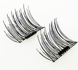 2017 Magnetic Eye Lashes 3D Mink Full Strip Lashes Reusable Magnet False Eyelashes Extension Thick Long False eyelashes 002