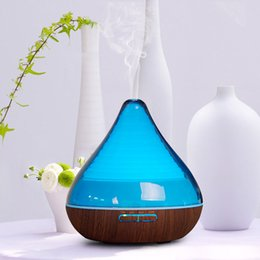 Wholesale By DHL ML Air Ultrasonic Humidifier Essential Oil Diffuser Aroma Lamp Aromatherapy Electric Aroma Diffuser Mist Maker