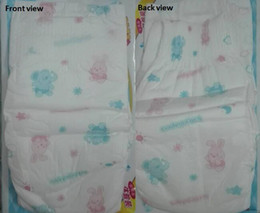 Lowest Price 2019 Factory sale Wholesale Baby Diapers Economy Pack Three-demensional leakproof locks in urine Ultra-Thin and soft W17JS387