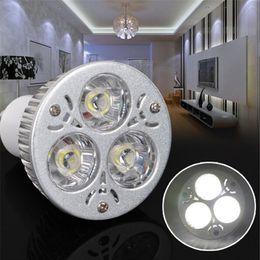 Hot Sale Retail High Power 9W 3x3W Dimmable Non-dimmable Bulb LED Spotlight GU10 MR16 E27 Led Light Lamp Spotlight Led Bulb