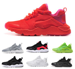 Wholesale Drop Shipping Running Shoes Men Women Air Huarache Sneakers Boots Authentic Walking Discount Sports Shoes Size For