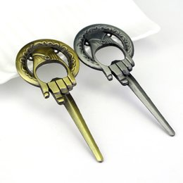 Wholesale Game of Thrones Hand Of The King Bottle Opener Bar Beer Opener A Song of Ice And Fire Keyring Without Chain