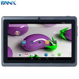 2017 tablettes quad core Livraison gratuite 7 pouces A33 Quad Core Q88 Tablette Dual Core WIFI MID double appareil photo Android 4,4 512MB 8GB Surf moins cher PAD populaire tablettes quad core offres