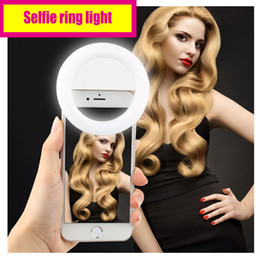 Wholesale High class Selfie ring light with USB charger Long standby time quot Halo Effect quot on the eyes yet not dazzling