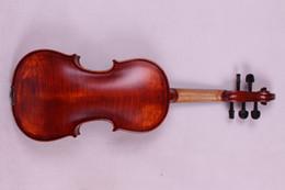 Grossiste - 5 cordes 4/4 Violon Ebène pièces Flame Érable Retour Antique Vernis Spruce Master Puissant Sound Pro + 505 # ebony pro on sale à partir de ébène pro fournisseurs
