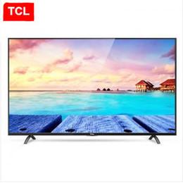 Promotion tv lcd 55 TCL 55 pouces 4K Ultra HD TV vraiment HDR haute gamme de couleurs 14 core Android smart à écran plat LCD TV LED produits populaires!