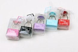 "Factory Directly Sale Wedding Favor -""with This Ring"" Crystal ""diamond"" Ring Key Chain Widely Used As Wedding Gift Wholesale"