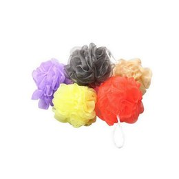 Wholesale Shower Ball Bath Tubs Cool Ball Bath Towel Scrubber Body Cleaning Mesh Shower Wash Sponge