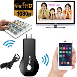 Descuento androide dlna palo de televisión Venta al por mayor-C2 wecast Miracast adaptador Dongle espejo fundido androide mini pc tv airplay dlna inalámbrico hdmi tan bueno como cromo molde