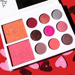 2017 Kylie valentine collection Kyshadow 11color Eyeshadow Palette Kylie Jenner valentine's day gift!