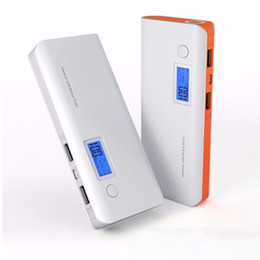 New Portable Power Bank 50000mAh Double USB LCD Display External Backup Battery for iPhone mobile Phone Universal Charger